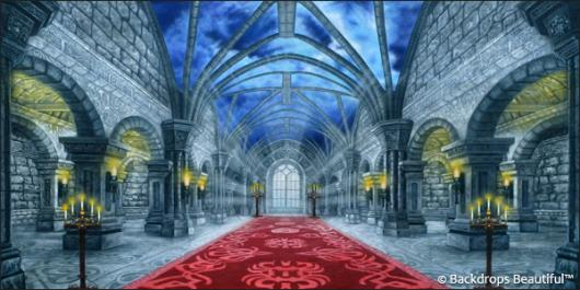 Backdrops: Medieval Castle Interior 4