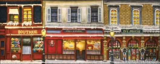 Backdrops: European Street Scene 5