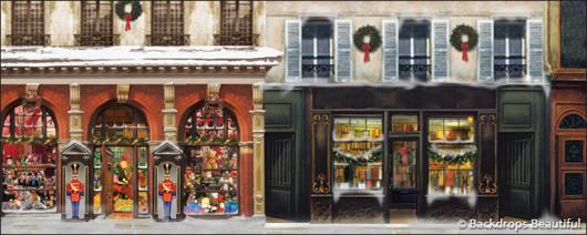 Backdrops: European Street Scene 8(a) (Alt View)