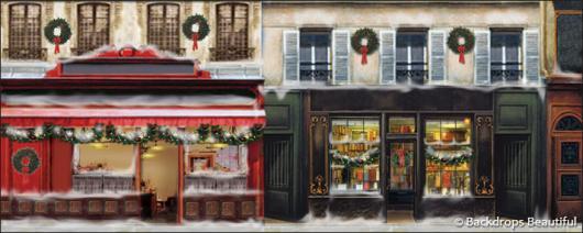 Backdrops: European Street Scene 9(a) (Alt View)