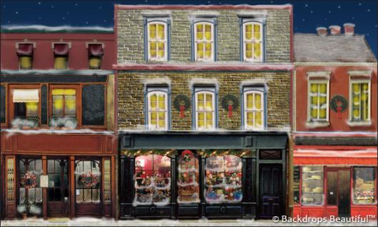 Backdrops: European Street Scene 9B