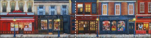 Backdrops: European Street Scene 7B Panel