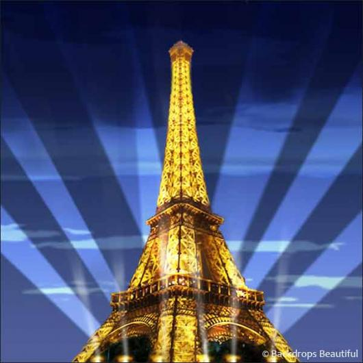 Backdrops: Paris Eiffel Tower 2B