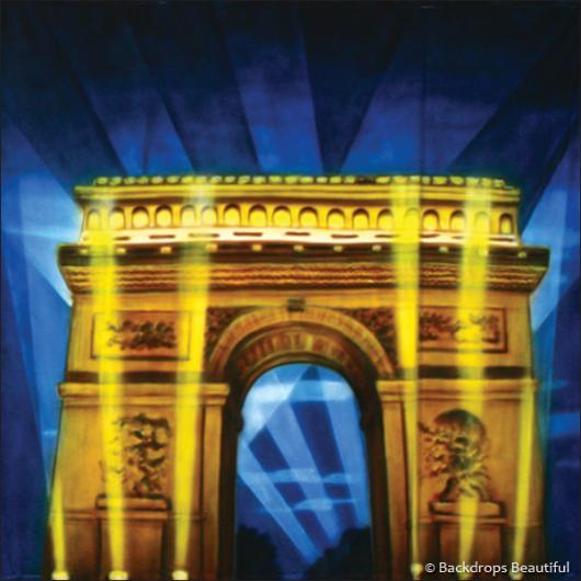 Backdrops: Paris Arch De Triumph 1B