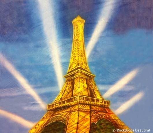 Backdrops: Paris Eiffel Tower 3