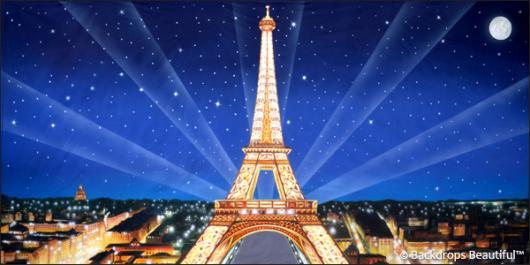 Backdrops: Paris Eiffel Tower 9