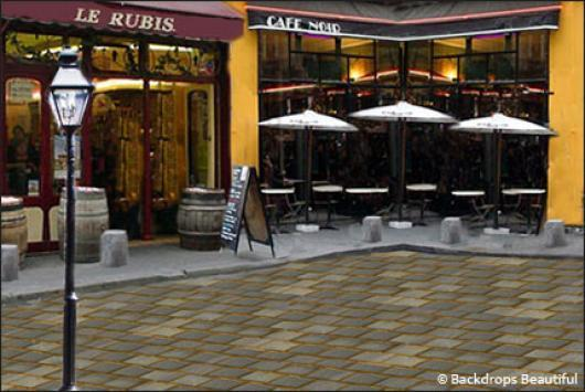 Backdrops: French Street 1