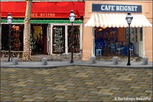 Backdrops: French Street 2