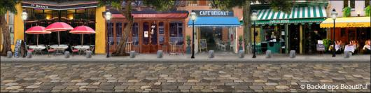 Backdrops: French Street 7