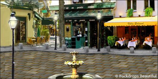 Backdrops: French Street 3