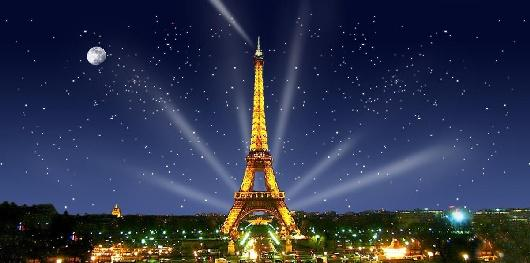Backdrops: Paris Eiffel Tower 1