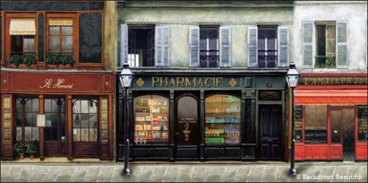 Backdrops: French Street 4B