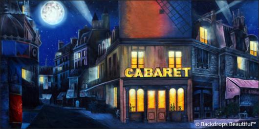 Backdrops: Paris Cabaret