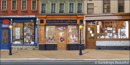 Backdrops: Shopfront 4 France