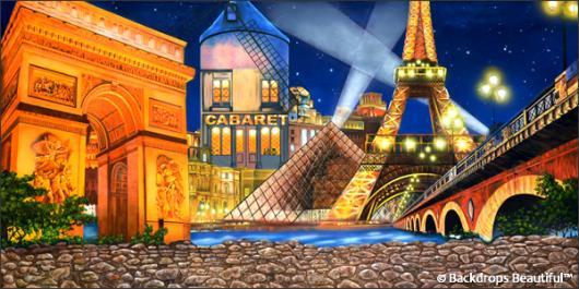 Backdrops: Paris Landscape 1