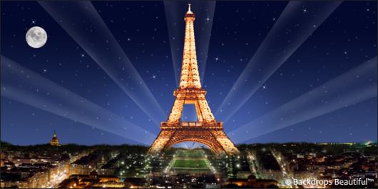 Backdrops: Paris Eiffel Tower 6