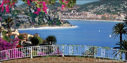 Backdrops: Coastal Terrace 1