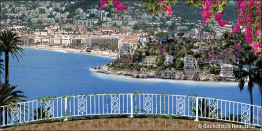 Backdrops: Coastal Terrace 2