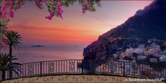 Backdrops: Coastal Terrace 3