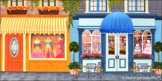 Backdrops: Shopfront 5 Cafe