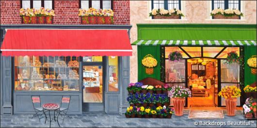 Backdrops: Shopfront 6 Cafe