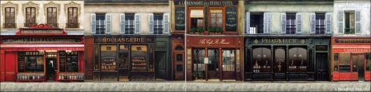 Backdrops: French Street 4B Panel