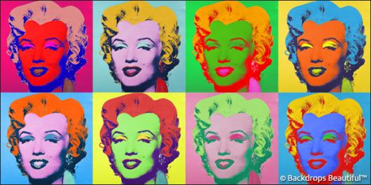 Backdrops: Fifties 1 Marilyn (Vinyl)