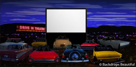 Backdrops: Drive In 2