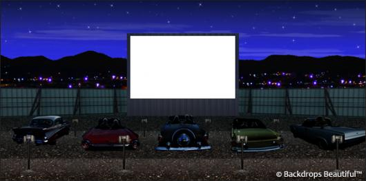 Backdrops: Drive In 3