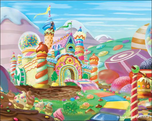 Backdrops: Candyland 6
