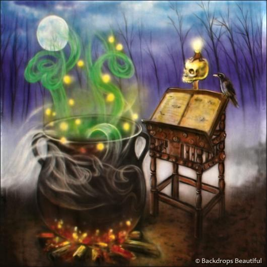 Backdrops: Cauldron 1A