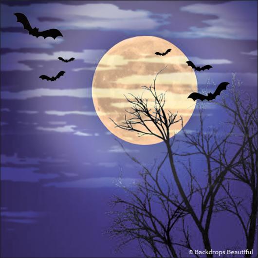 Backdrops: Wicked Moon 2B