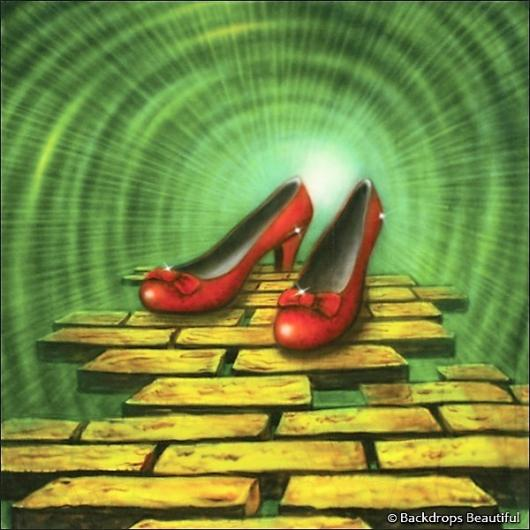 Backdrops: Wizard of Oz 5 Shoes