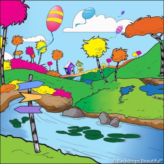 Backdrops: Seussical 4