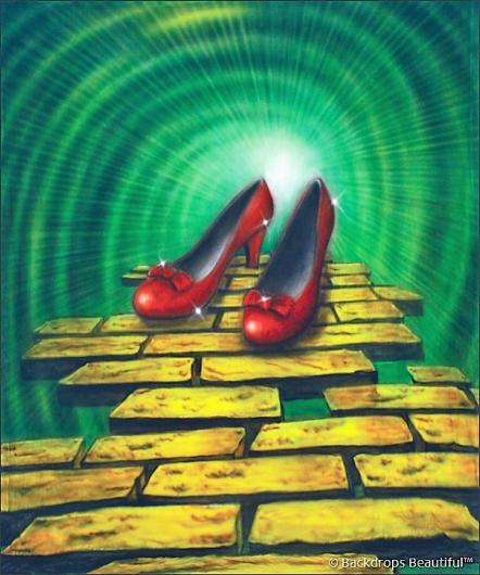 Backdrops: Wizard of Oz 6 Shoes