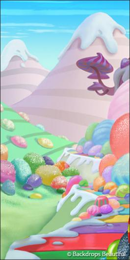 Backdrops: Candyland Leg 2
