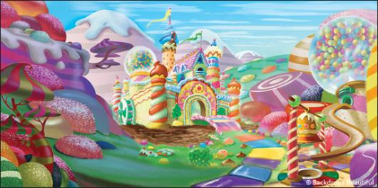 Backdrops: Candyland 5A