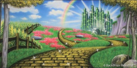 Backdrops: Wizard of Oz 3B
