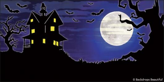 Backdrops: Wicked Moon 4B