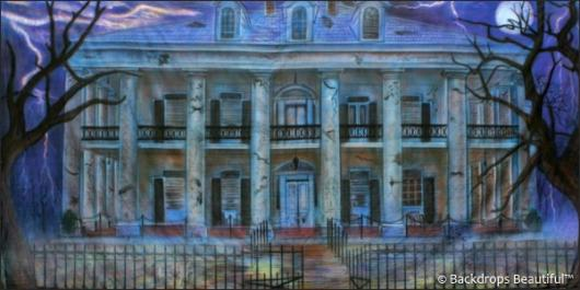 Backdrops: Haunted Mansion 5