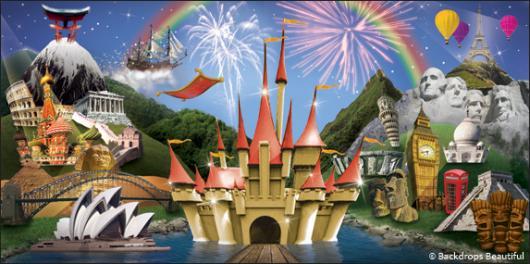 Backdrops: Fantasy World 2