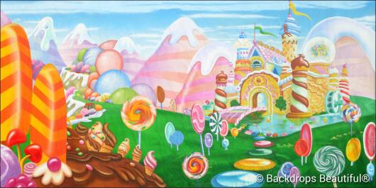 Backdrops: Candyland 12