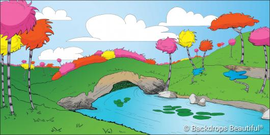 Backdrops: Seussical 3