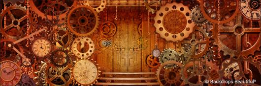Backdrops: Steampunk 6