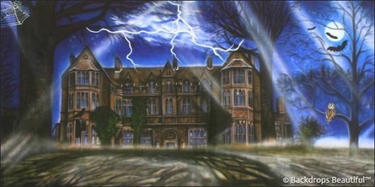 Backdrops: Haunted Mansion 4