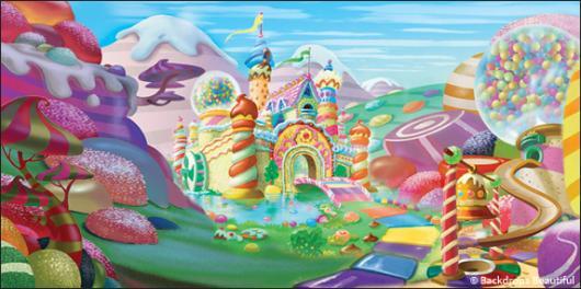 Backdrops: Candyland 8A