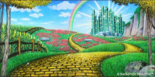 Backdrops: Wizard of Oz 4