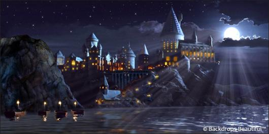 Backdrops: Castle 5 Moonlight