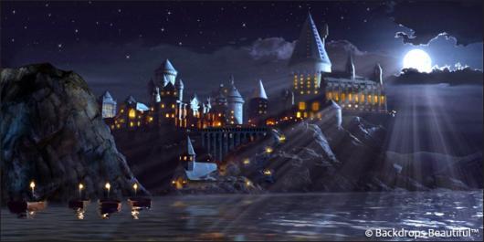 Backdrops: Castle 5 Moonlight
