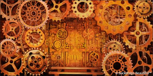 Backdrops: Steampunk 2